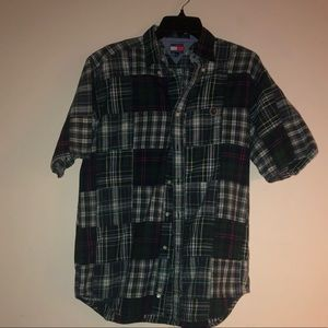 Tommy Hilfiger Plaid Button Up